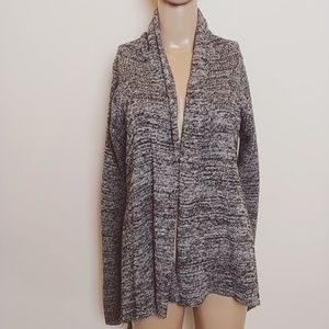 Silence + Noise | Heathered Gray Knit Cardigan